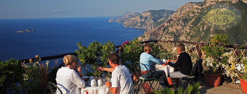 Directions casa cuccaro bed and breakfast positano for Bed and breakfast amalfi coast